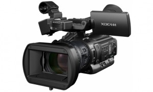 Portable HD broadcast: the PMW-200. Picture: Sony