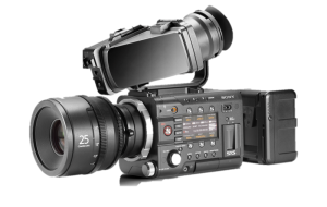 Sony's cinematic F55.