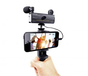 Fostex AR101 mic adapter for iPhone