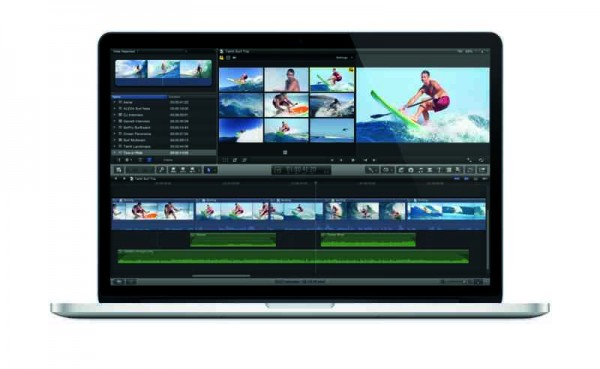 Multi-view editing is updated in Final Cut Pro X.
