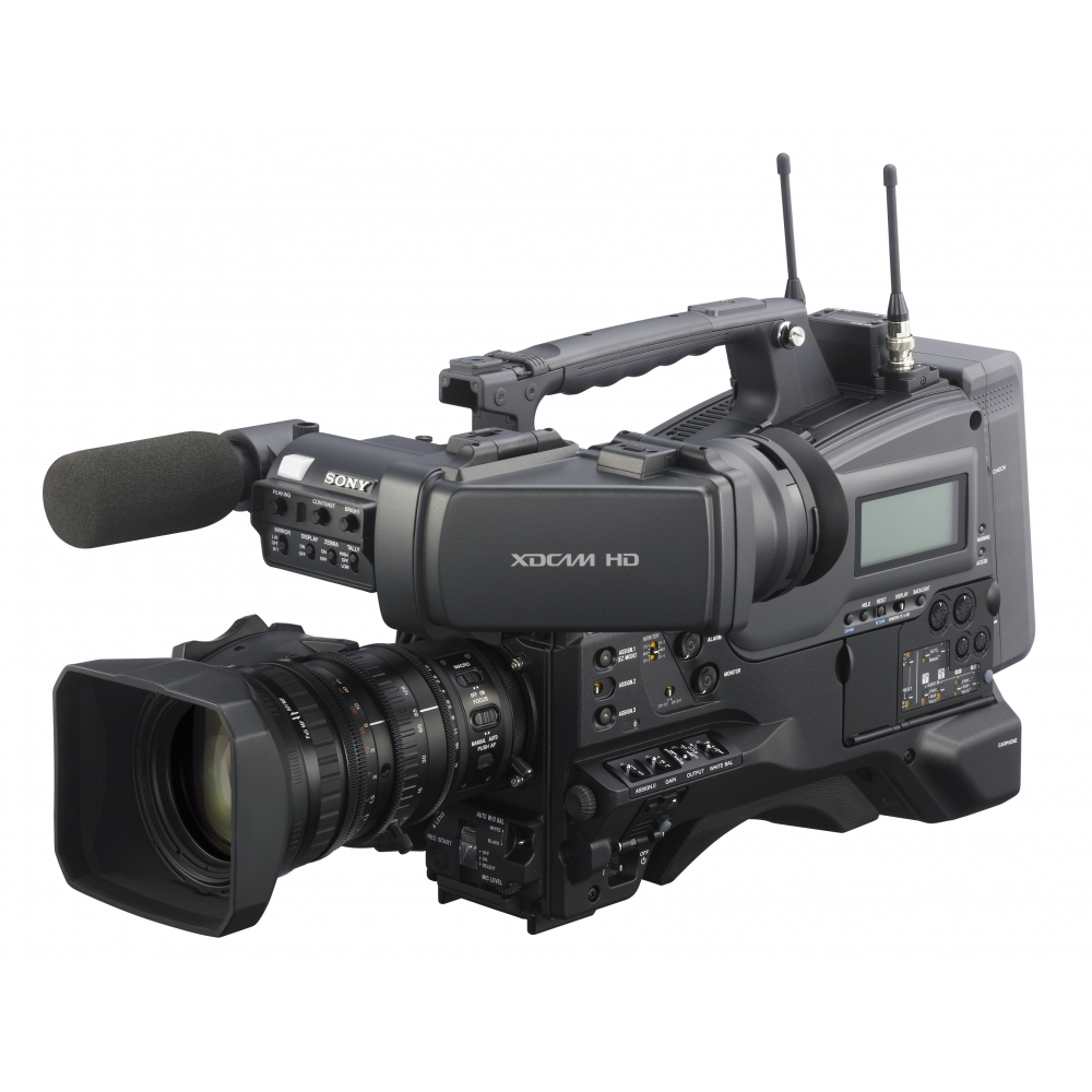 Sony's PMW-400 shouldermount camcorder