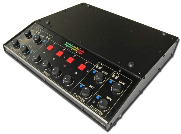 Glensound GC5 USB broadcast mixer