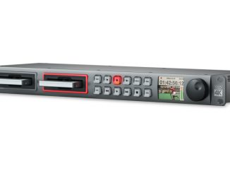 Blackmagic Design's HyperDeck Studio Pro