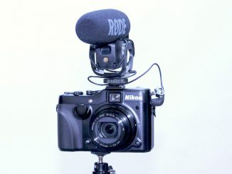 Nikon P7100 and Rode Video Mic Pro