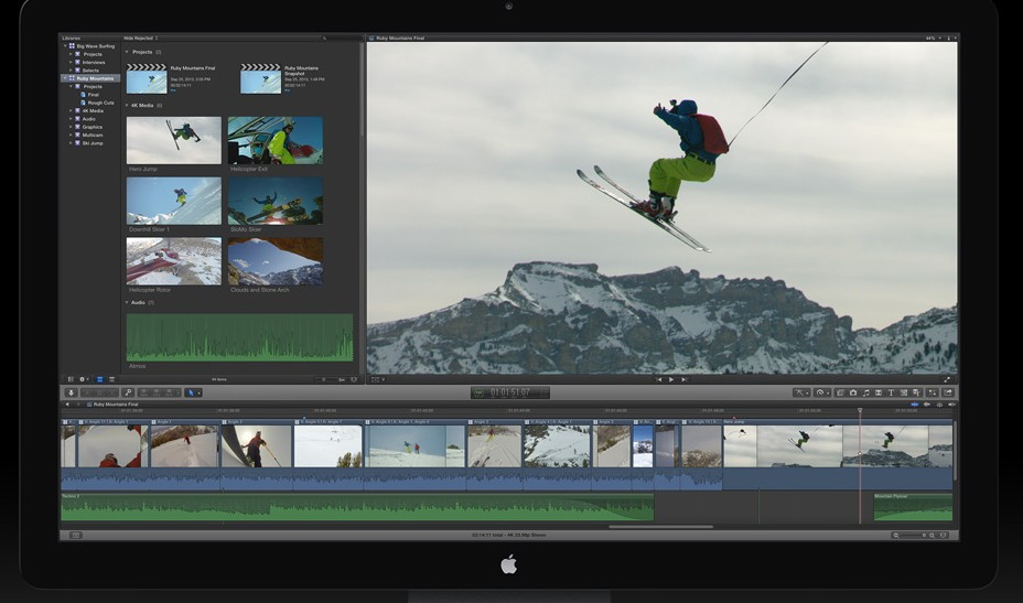 Apple FCP X Libraries