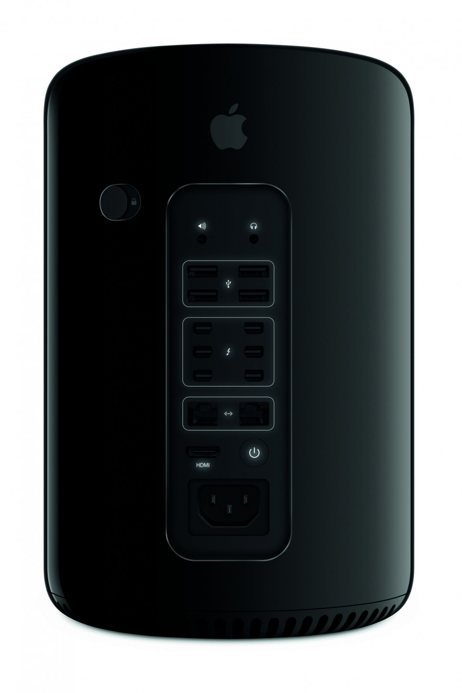 Mac Pro rear view