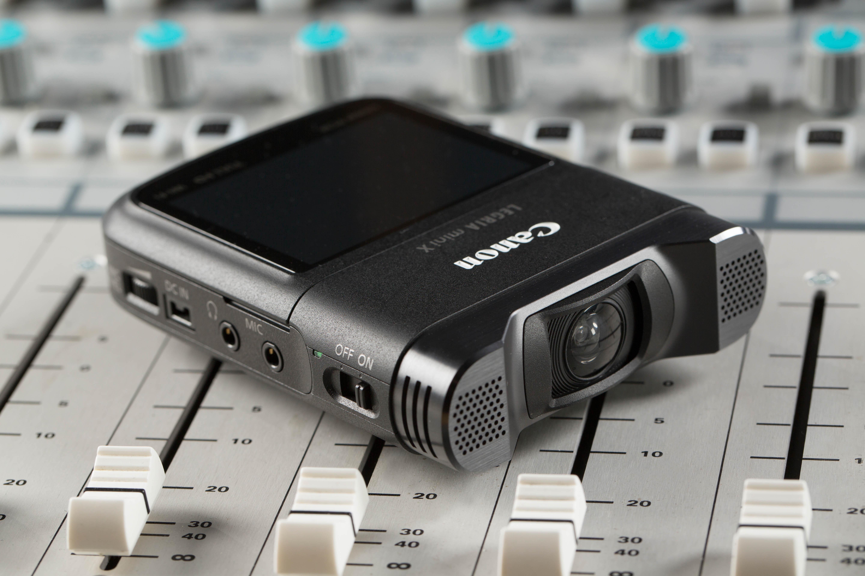 Canon's LEGRIA Mini X recorder.