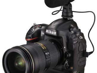 Nikon D4 with mic