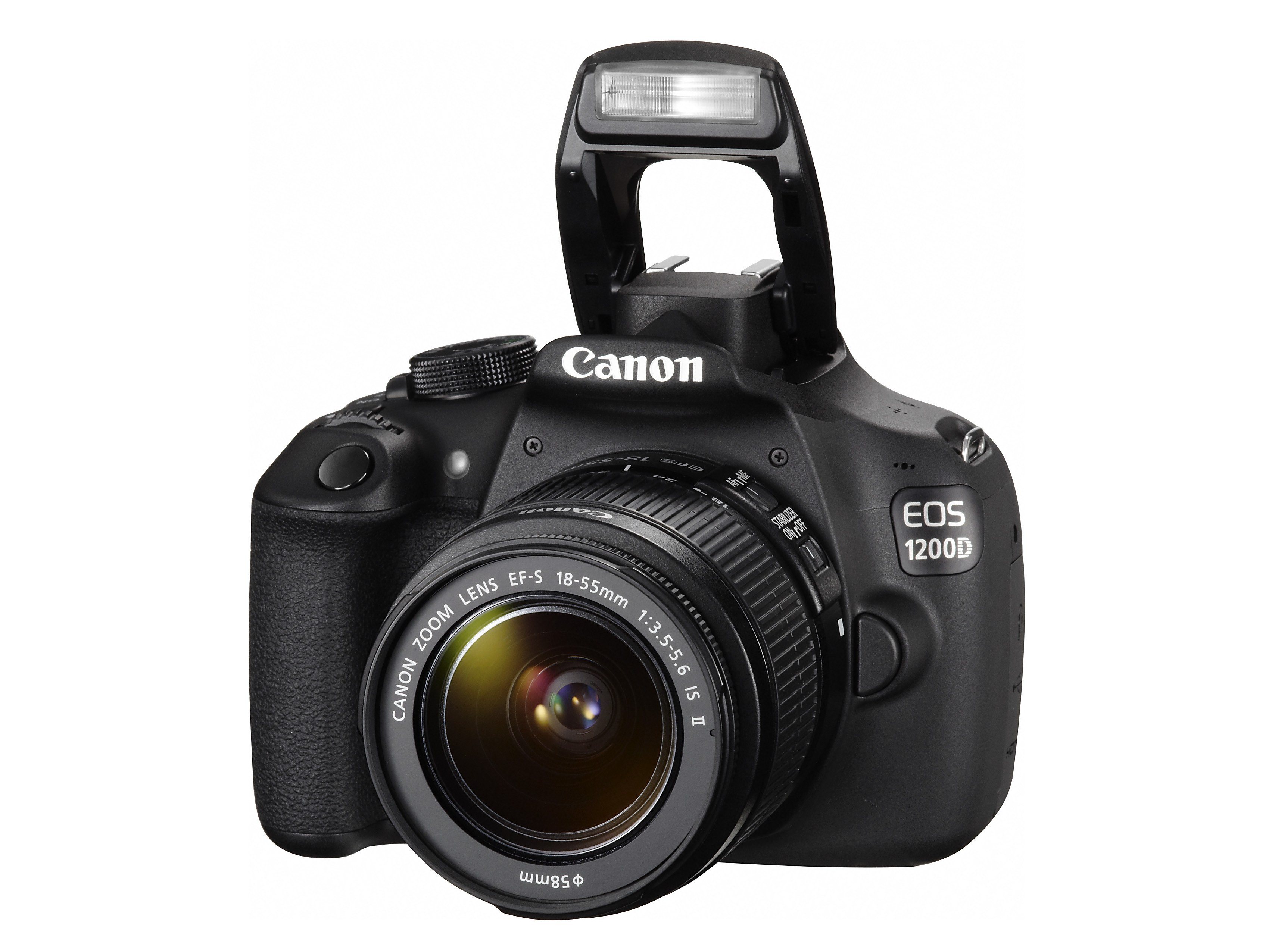 Canon adds full HD video to entry-level DSLRs with 1200D -
