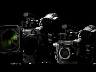 Panasonic 4K VariCam 35 and HD, VariCam HS