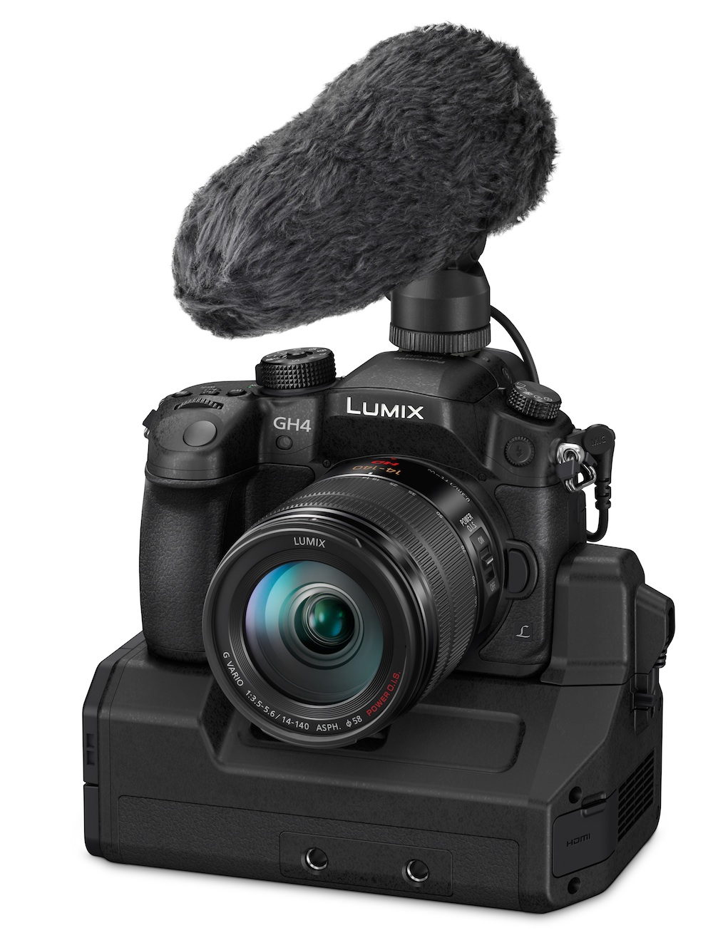 Panasonic 4K GH4 with YAGH video interface