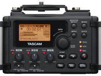 Tascam DR-60D front