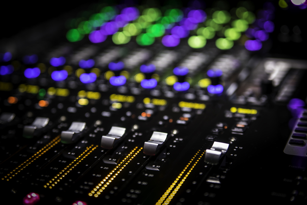 Pro Tools S6 faders
