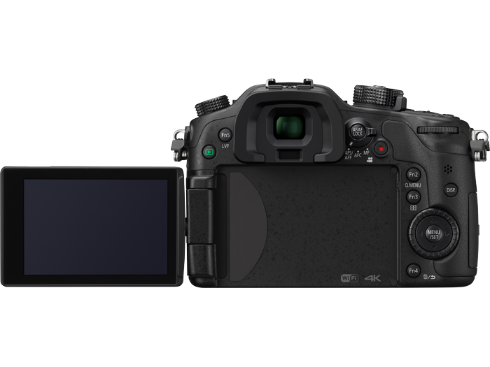 Panasonic's GH4 from the rear