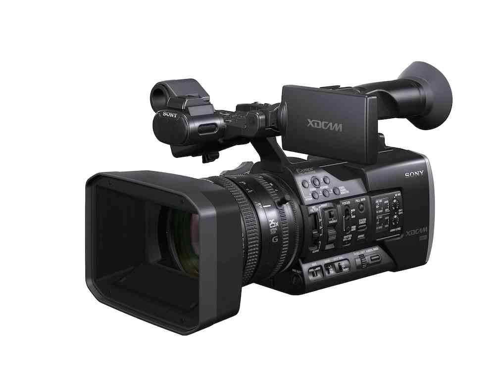 Sony Announces Pxw X160 Camcorder