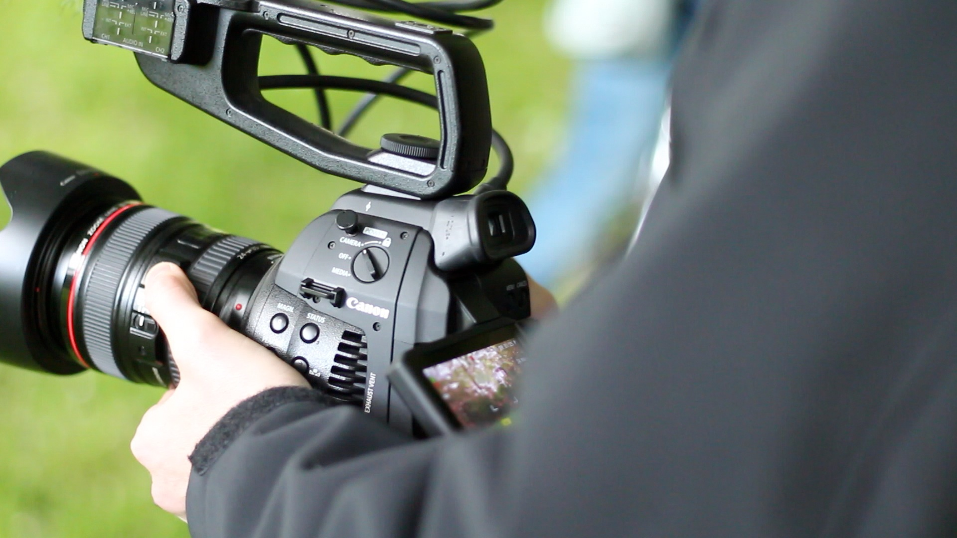 Review: Canon Cinema EOS C100 with DAF -