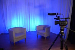 Blue studio set