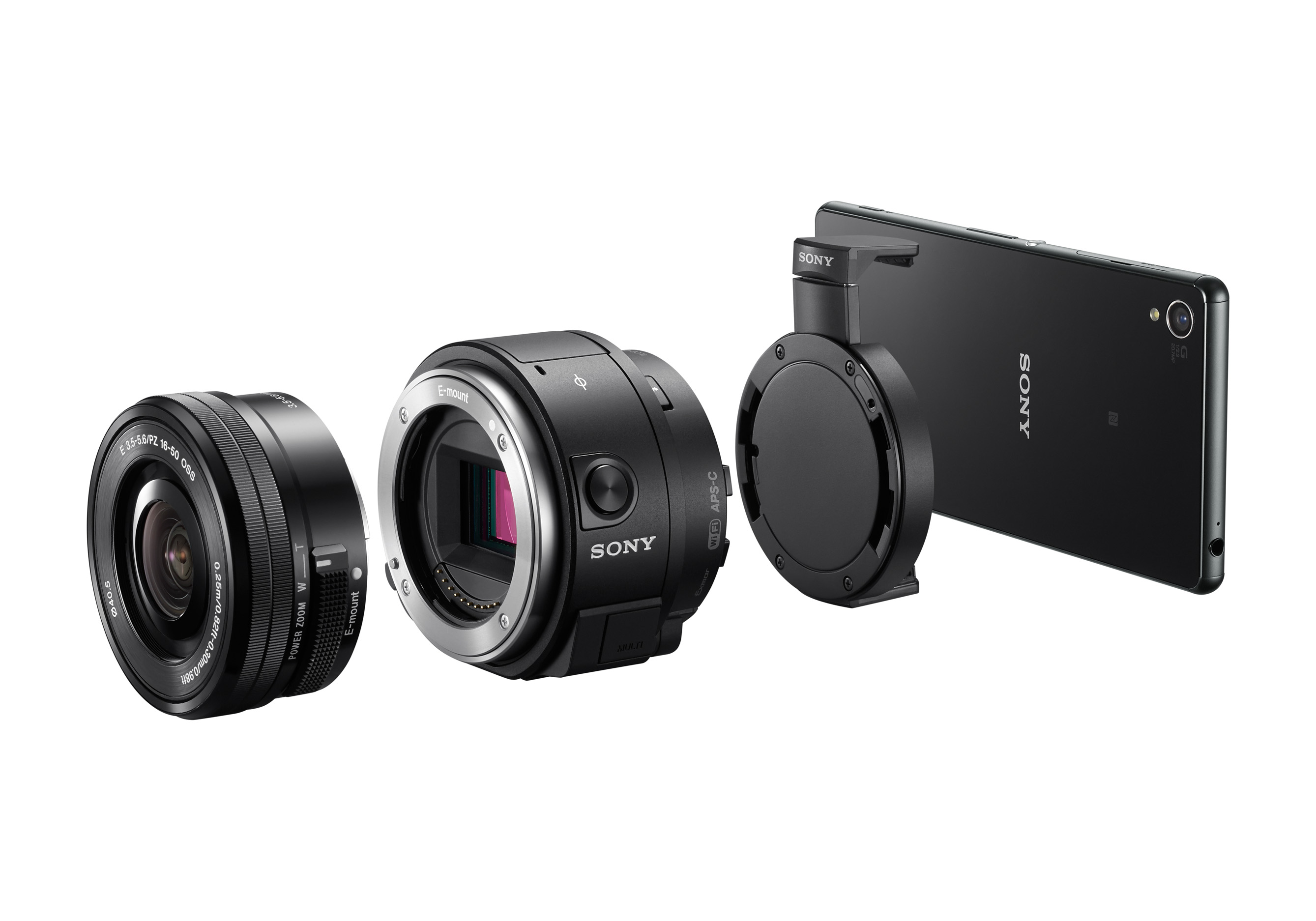 The APS-C based Sony QX1