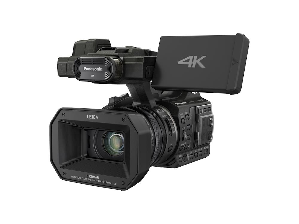 Panasonic's 4K HC-X1000