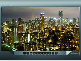 BlackMagic Design's SmartView 16 4K rack mount monitor