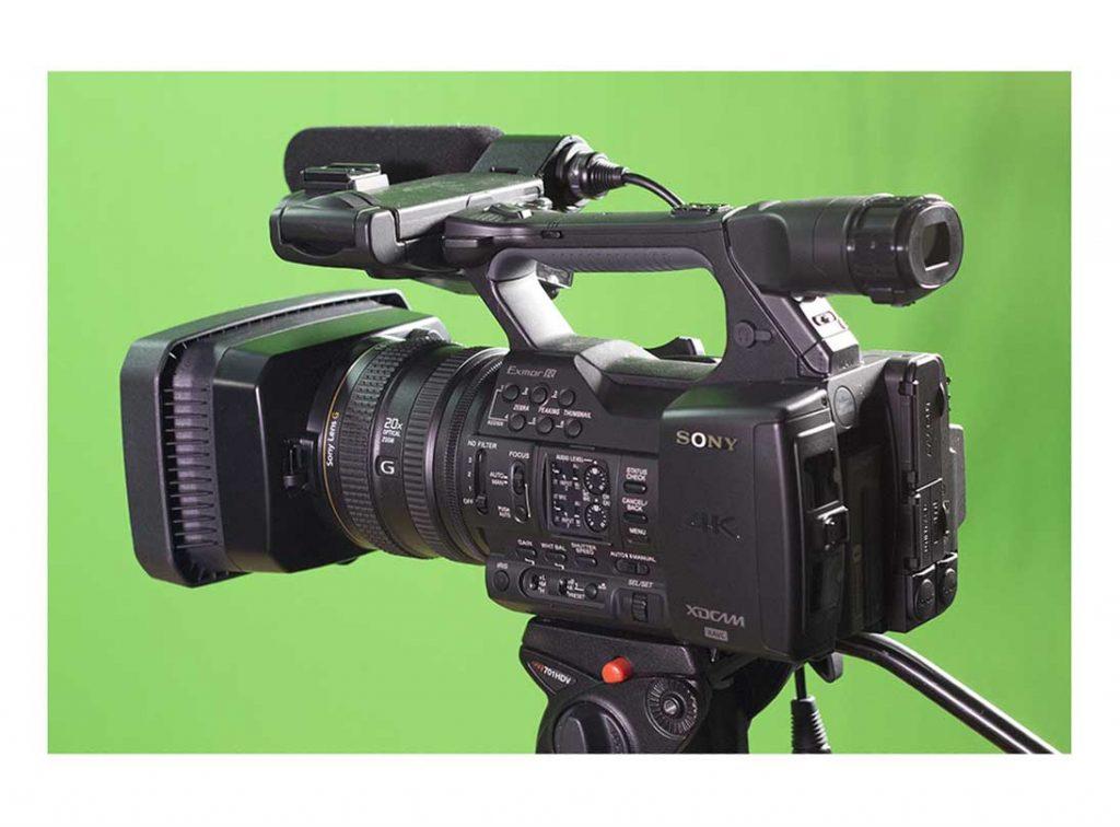 Sony PXW-Z100 side