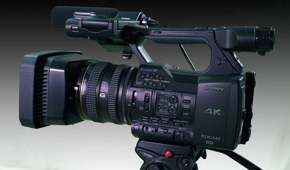 review sony pxw z100 4k camcorder. Black Bedroom Furniture Sets. Home Design Ideas
