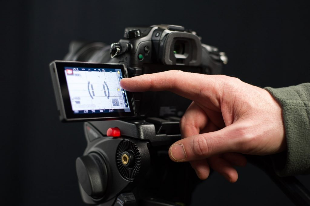GH4 touch screen