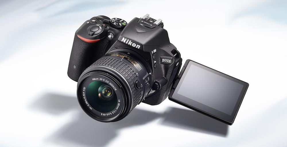 Nikon's D5500