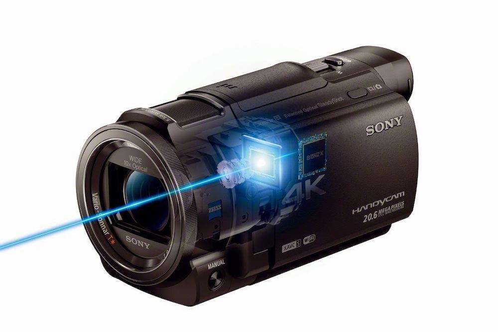 Sony's FDR-AXP33 Handycam