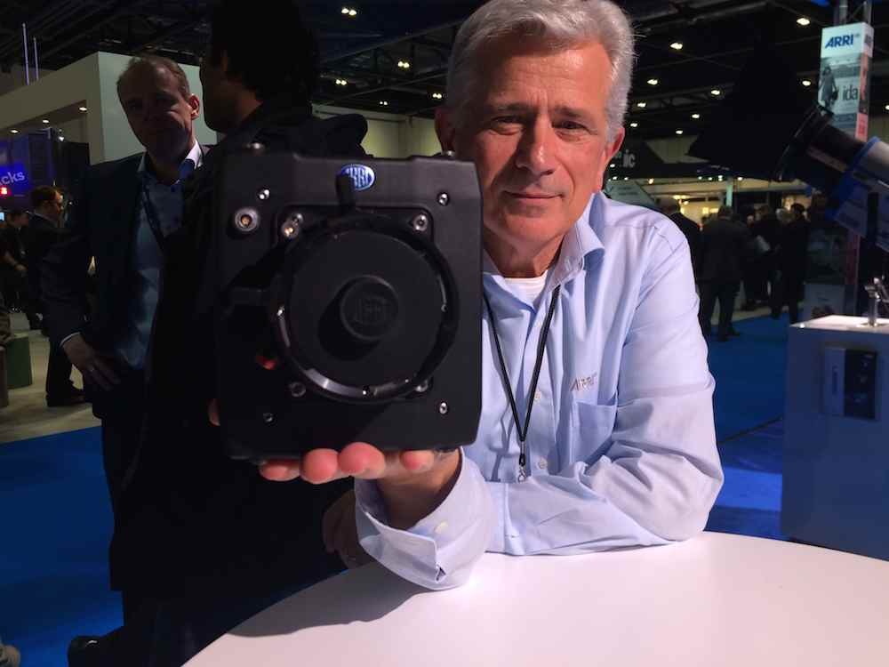 ARRI's Milan Krsljanin with the Alexa Mini