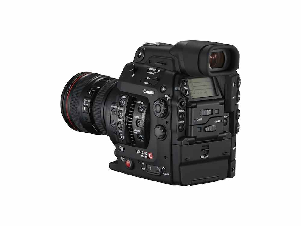Canon's new EOS C300 Mark II