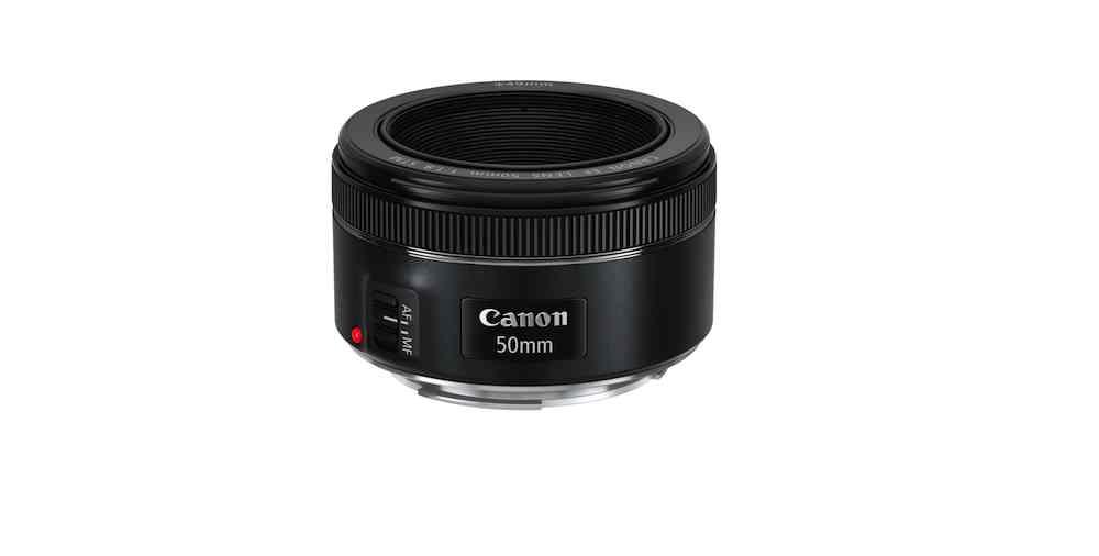 Canon's new EF 50mm f1.8 STM lens