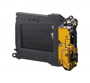 Shutter unit from Sony's A7S II