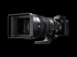 Sony A7S II with 28-135 G video lens