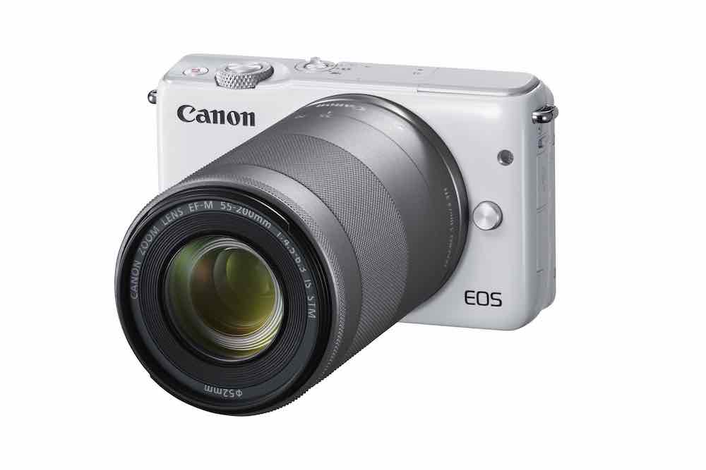 EOS M10 is a budget mirrorless option from Canon