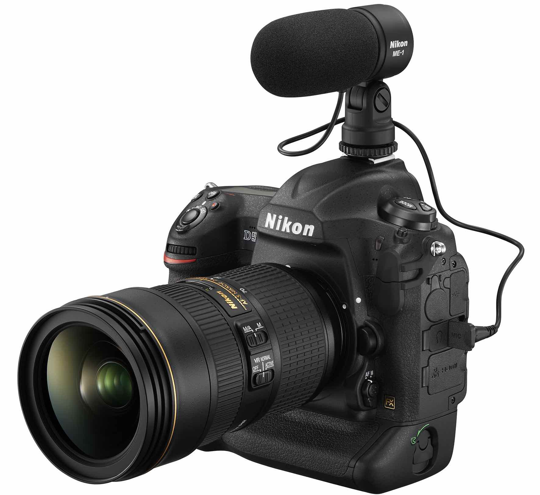 Nikon D5 for video
