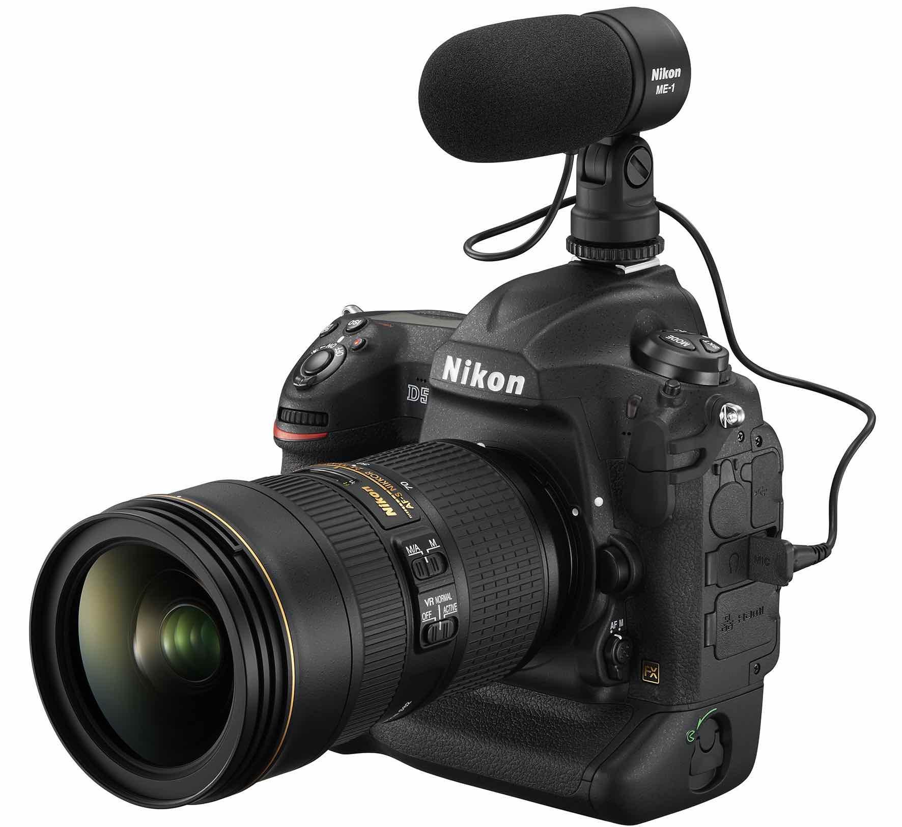 Nikon D5 for video