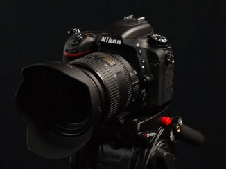 Nikon's D750 from front
