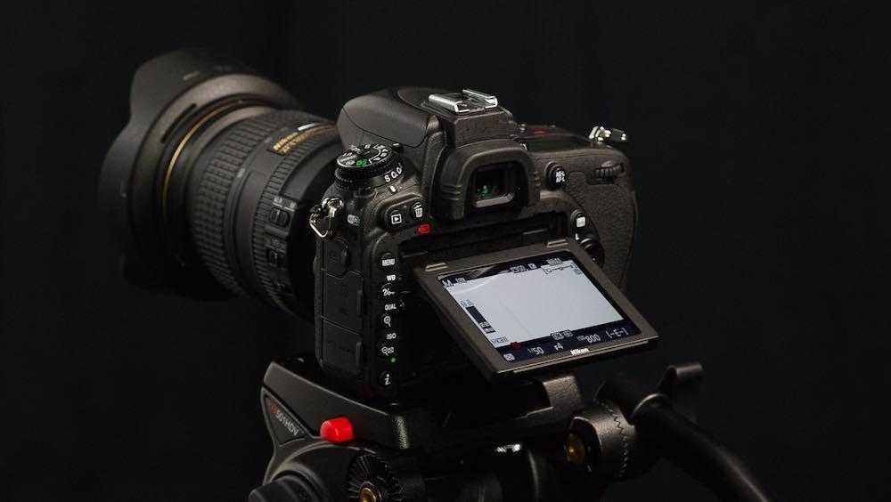 Nikon's D750 rear view