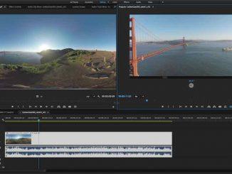 Premiere Pro's VR support