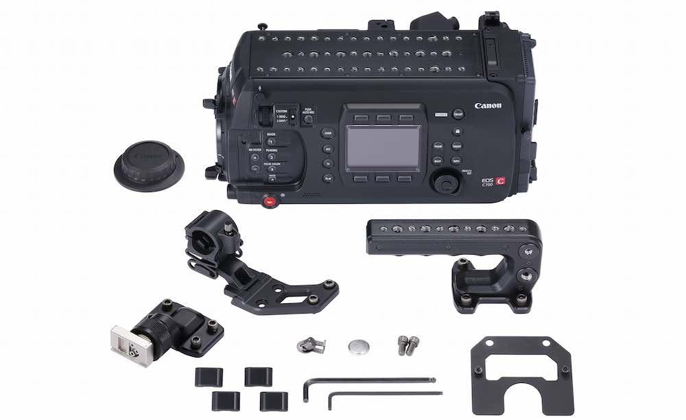 Canon Cine EOS C700 components