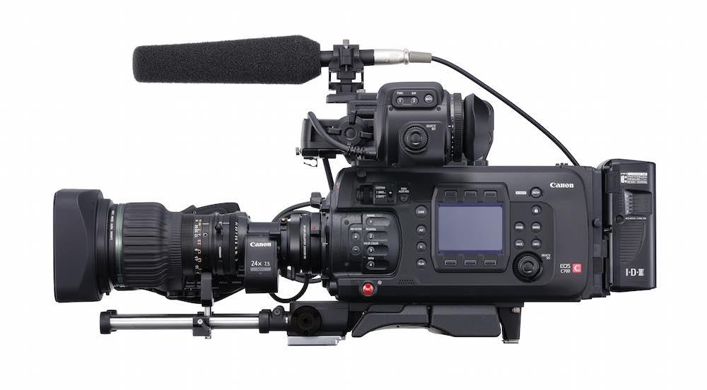 Canon's new modular, 4K, EOS C700