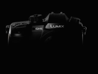 Panasonic GH5 on dark background