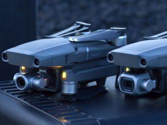 Mavic 2 Pro and Mavic 2 Zoom drones from DJI.