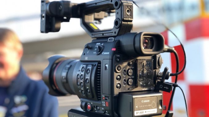 Canon C200 camera close up
