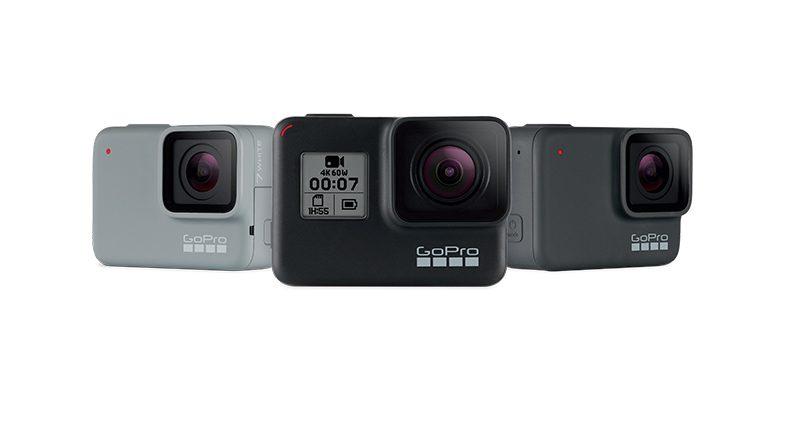 The GoPro HERO7 line up