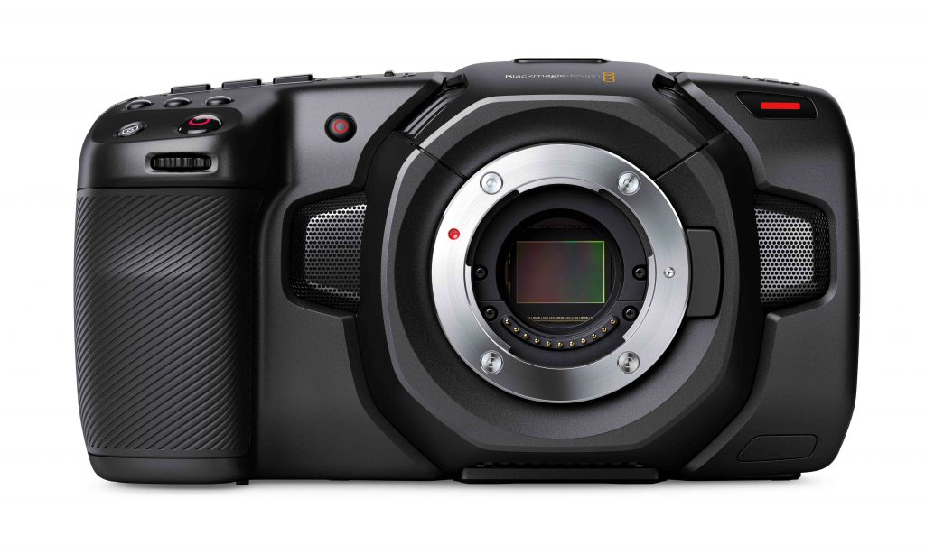 Blackmagic Pocket Cinema Camera 4K Top Angle
